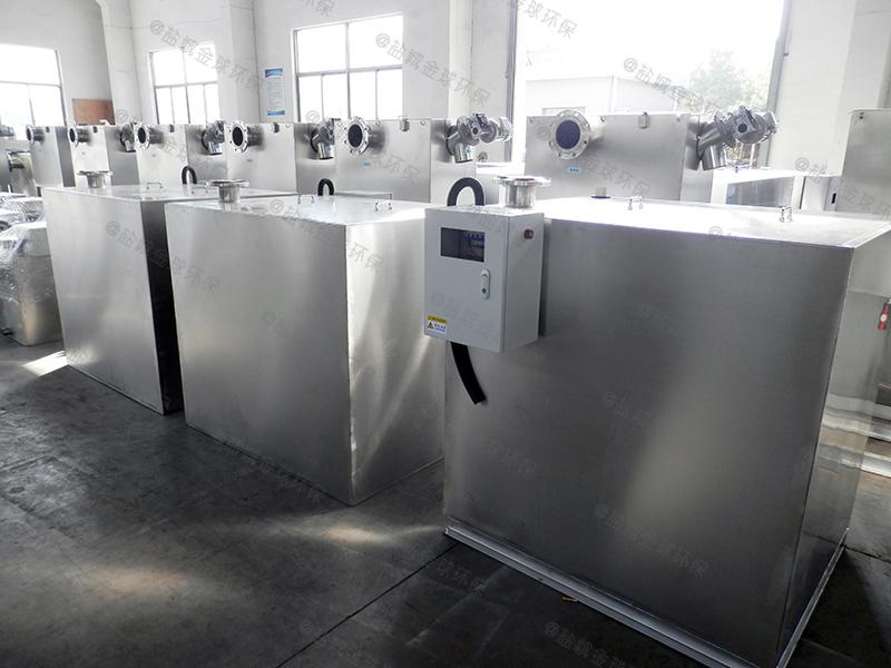 宜春家庭油水分離池油脂生產成套設備