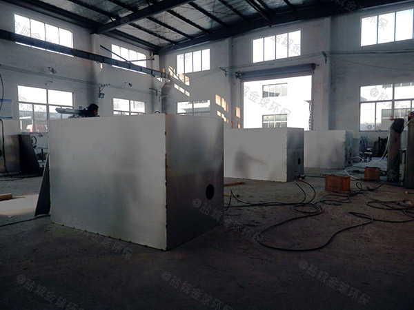 食堂用埋地式中小型无动力除渣隔油一体机的规格