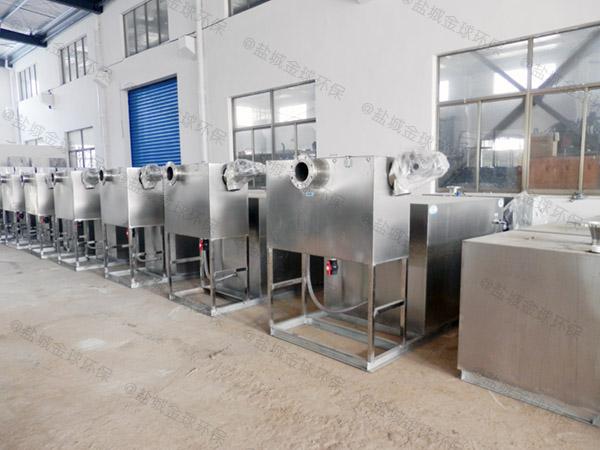 饮食业地埋式大组合式一体式隔油提升设备样本