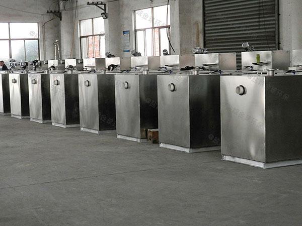 工厂食堂地上移动式一体式隔油设备购买
