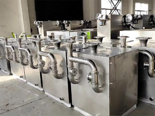 饭堂中小型地埋式自动隔油强排设备厂家中哪个比较好