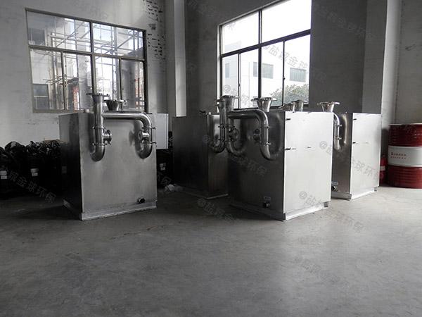 商家埋地式自动化隔油提升一体化装置除油效率
