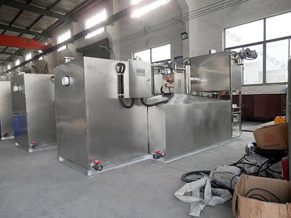 餐用大地面式自动除渣三格式隔油池作用