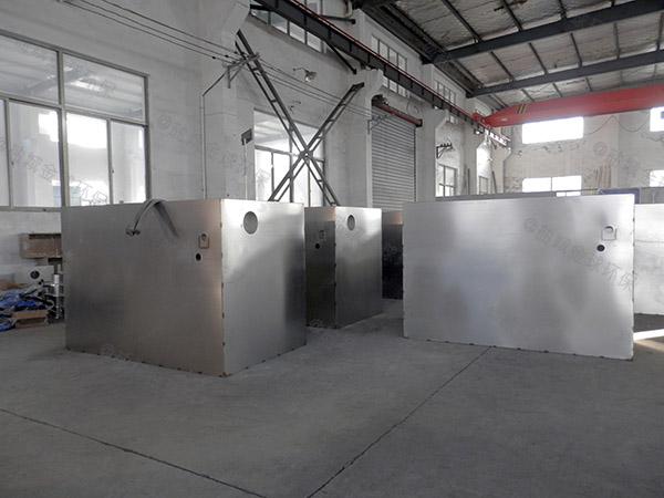 工厂食堂中小型全自动隔油污水提升设备有哪些