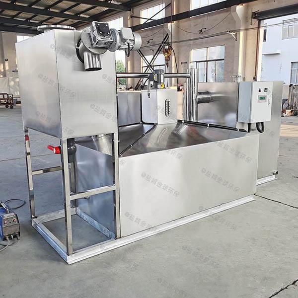 火锅专用室外简单一体式油水分离器改造公司