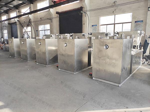 家用地下室全能型隔油过滤设备的组成
