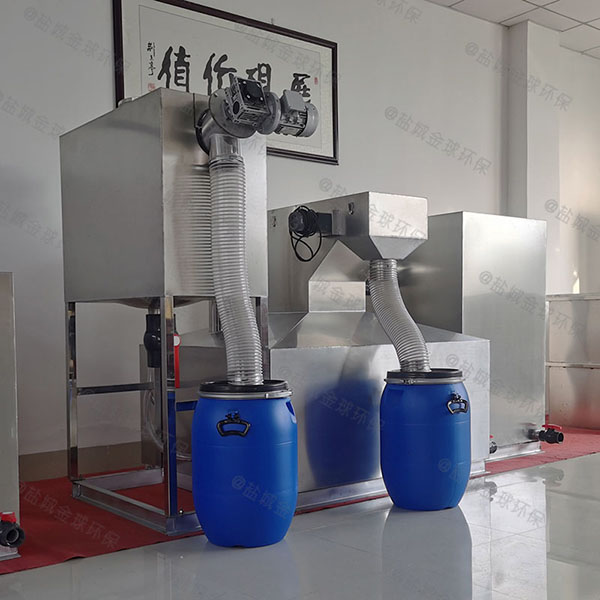 饭馆室外大型自动除渣隔油提升设备哪个牌子好