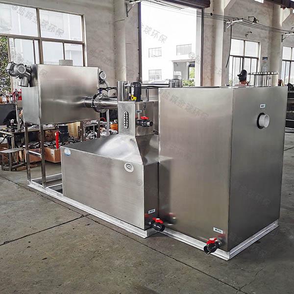 商业地埋式移动油水分离过滤器的作法