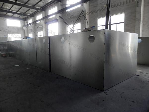餐饮地下室中小型分体式隔油设备公司