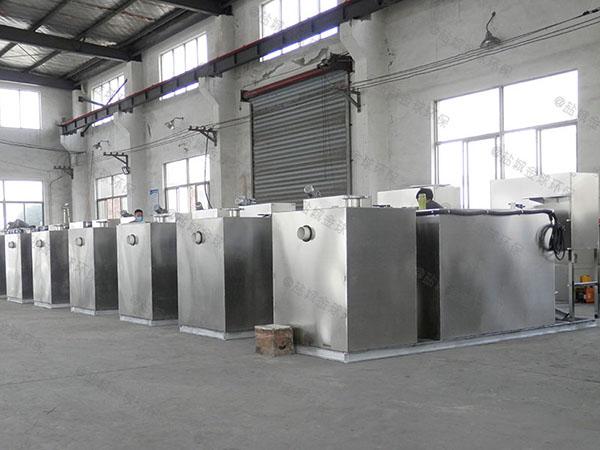 厨房地上式机械成套隔油设备厂家有哪些