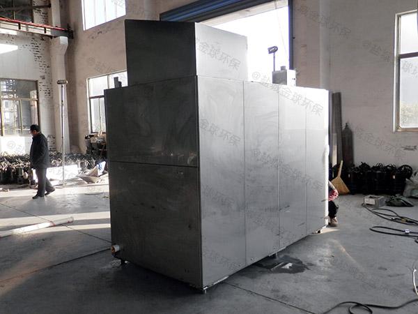 工程室内全能型油污水分离装置工艺流程