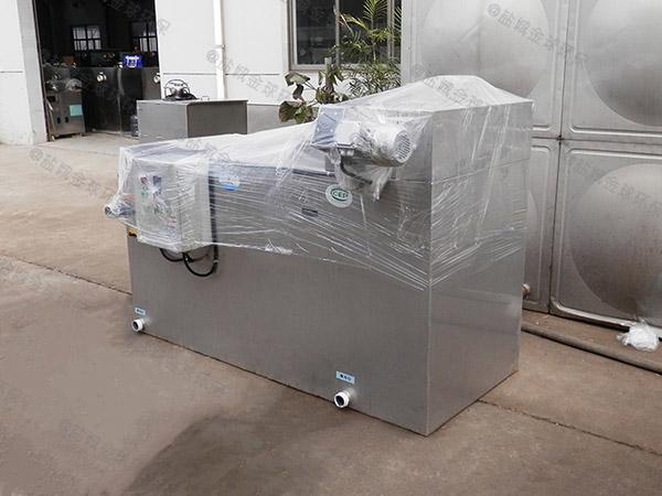 火锅店地下室大型组合式三段式隔油池价格表