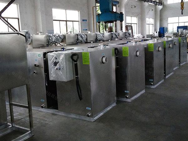 综合体大多功能强排油水分离器改造方案