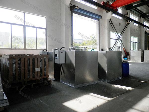 火锅店中小型地埋简单油水分离过滤器安装步骤