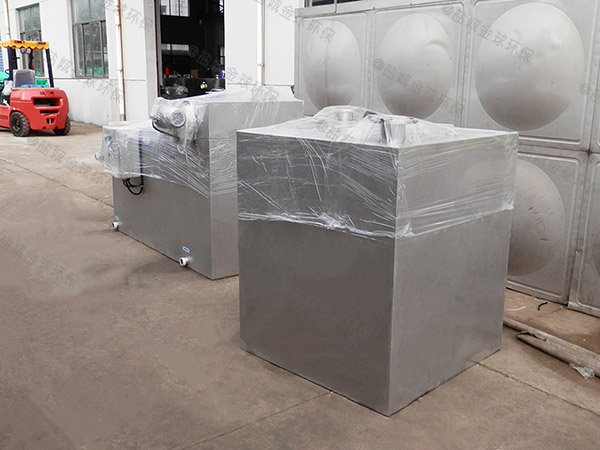 学校中小型地面式组合式隔油除渣设备改造价格