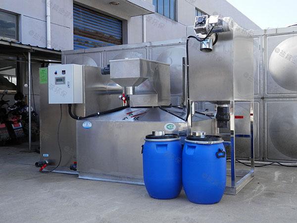 餐馆地上式中小型自动提升油脂分离器施工方案