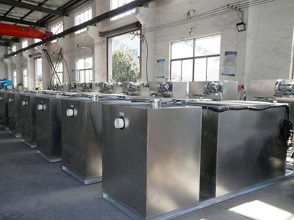 单位食堂大地面无动力污水油水分离设备哪里能买到
