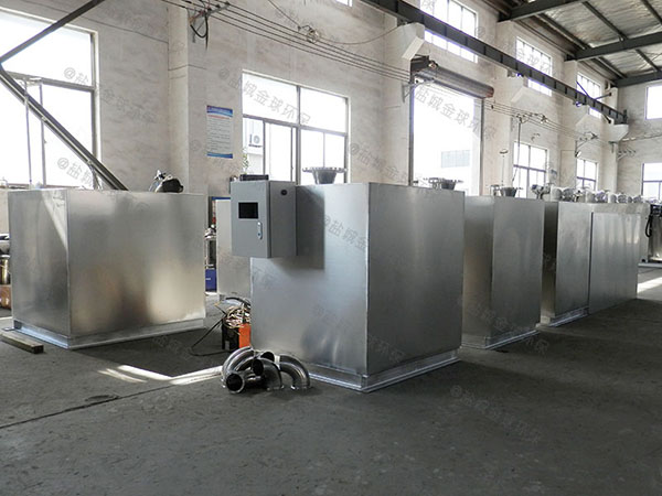 餐用室内自动刮油隔油处理器的构造