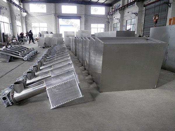 综合体地上式大全自动智能型一体式隔油设备工厂