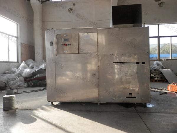 厨房用地上式中小型半自动隔油提升设备一体化装置应用