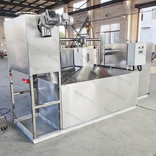 厨余地面式大移动式隔油提升设备构造