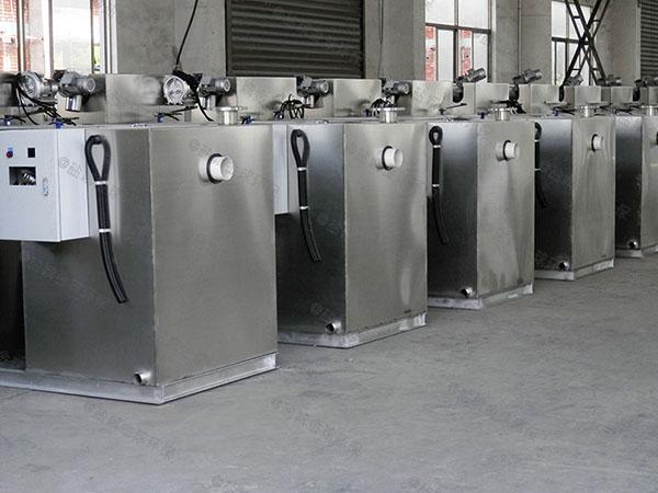 饭堂户外无动力油水分离提升设备怎么安装