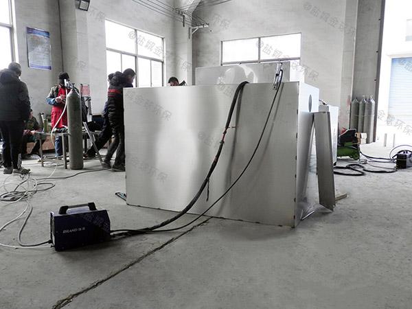 餐馆地下式中小型水与油分离设备操作