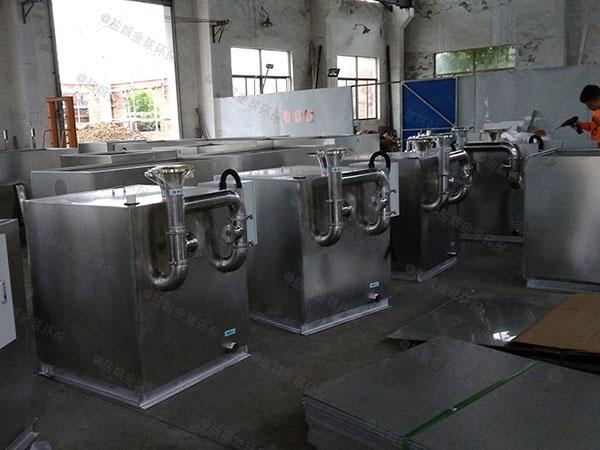 火锅专用地上式中小型全能型油脂分离机操作