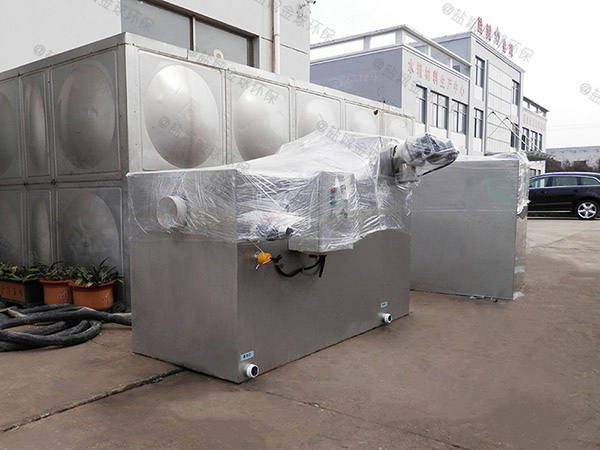 厨用户外简易污水油水分离设备使用