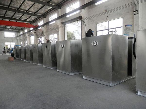商家中小型地埋自动水与油分离机器怎么选型