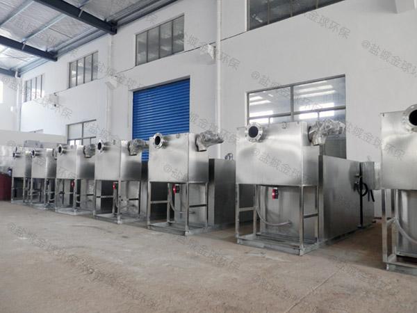 餐饮专用大分体式油水分离器提升设备购买