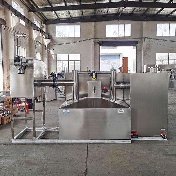 单位食堂中小型全自动智能型隔油污水提升一体化设备构造