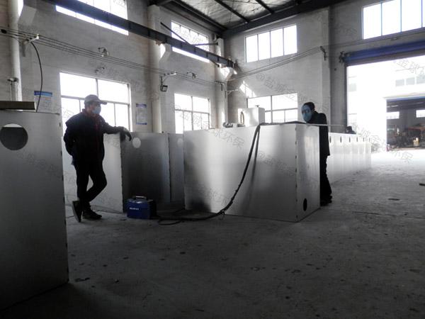 饭堂大地埋多功能一体式隔油设备原理