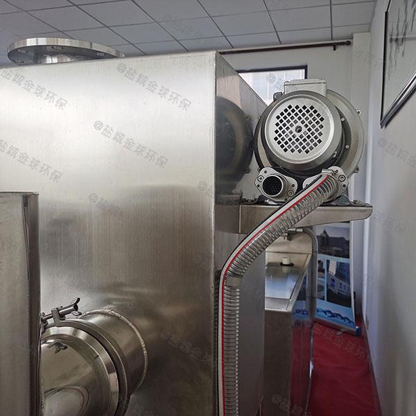 食堂用大地上式智能化水处理油水分离器哪有卖