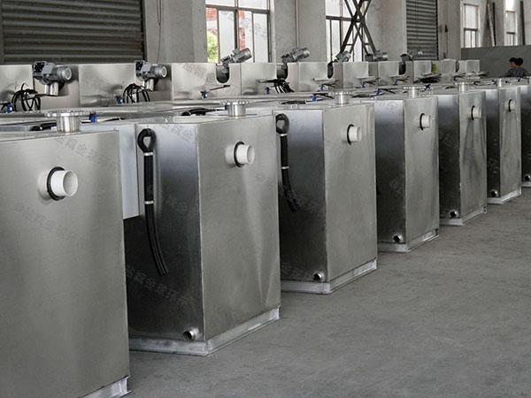 工地食堂大型地埋式全自动油水分离与处理设备使用寿命