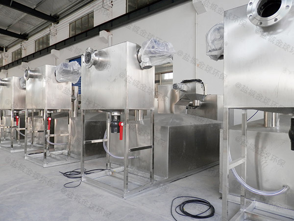 餐厅厨房中小型地面智能一体化隔油池设备的材质