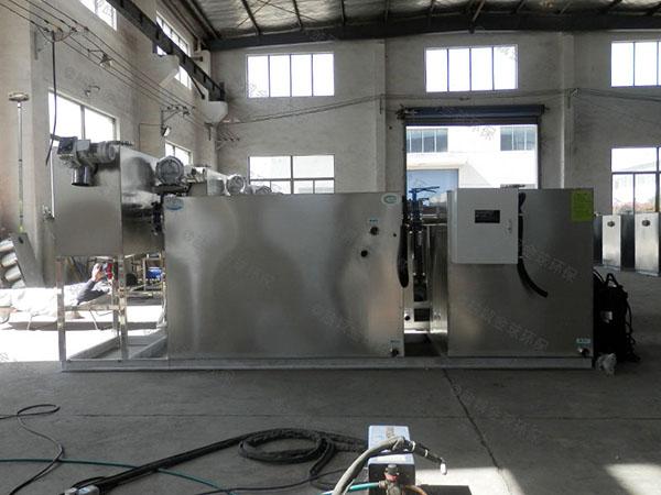 生活大室外分体式隔油一体设备设计