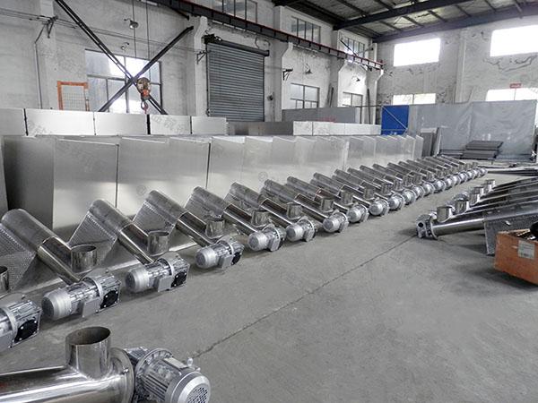 商业室内无动力隔油一体化提升装置行业发展