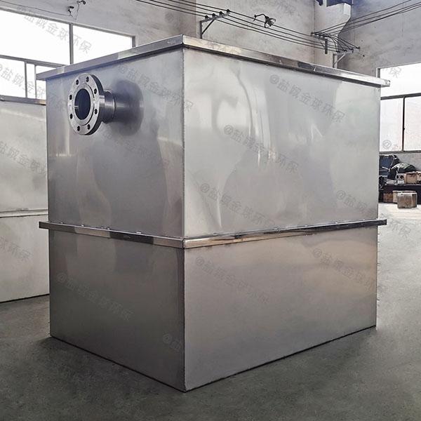 家庭大型地下室简单一体化隔油提升设备的尺寸
