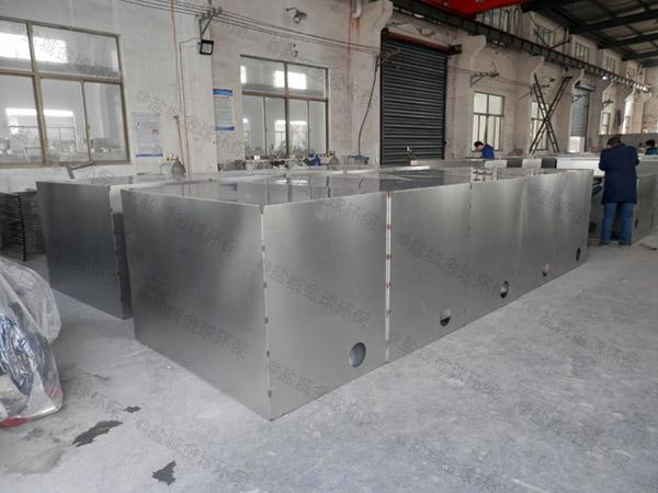 厨余大型地下室智能化污水隔油设备安装合同