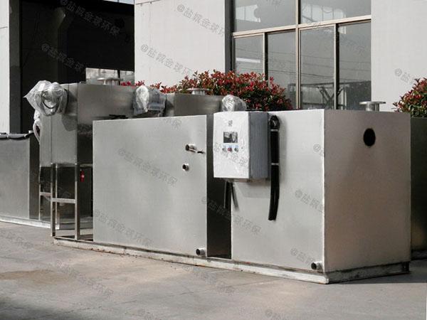居民用大室外移动式油水处理设备生产