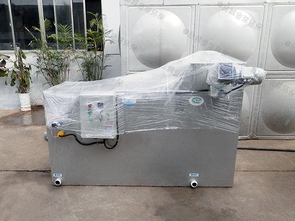 餐廳室外自動化油水渣分離機產品