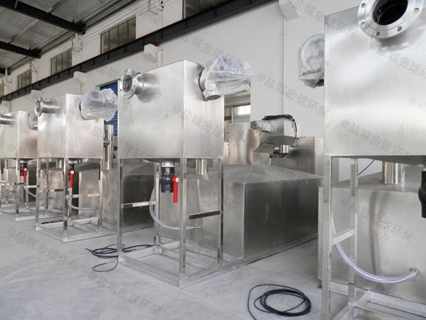 餐厨垃圾地面式中小型多功能一体化油水分离装置大小
