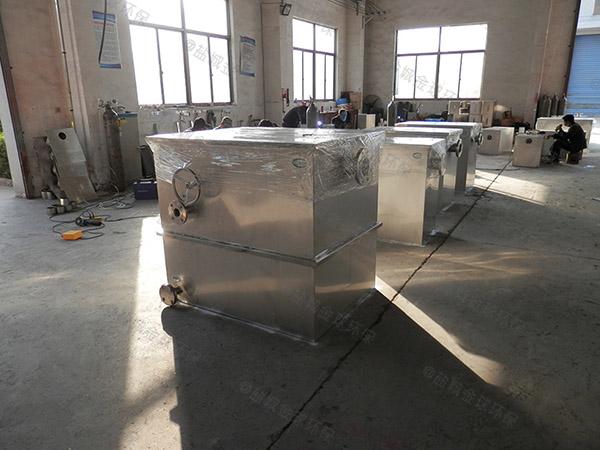 火鍋專用大地下式自動除渣油水處理設備的尺寸