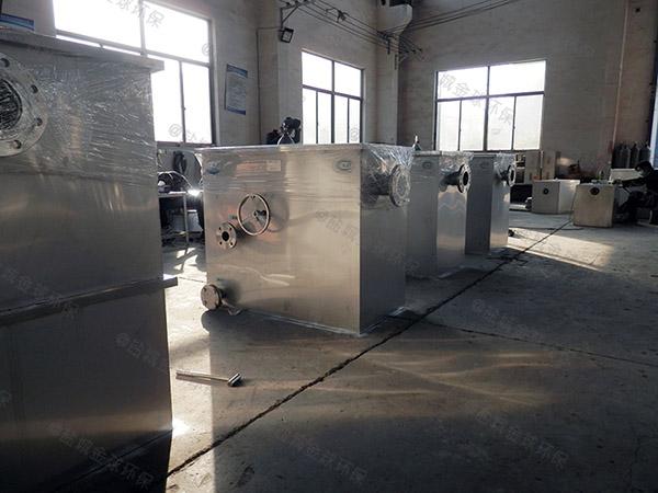餐用地上式分體式隔油器提升設備CAD