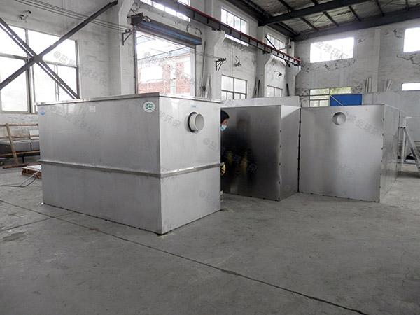 單位食堂中小型地上全自動智能型油水分離器提升設備生產商