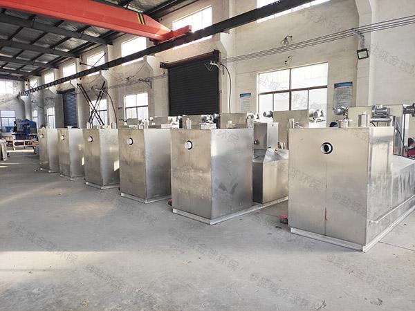 飯館地埋式中小型多功能排水隔油器計算