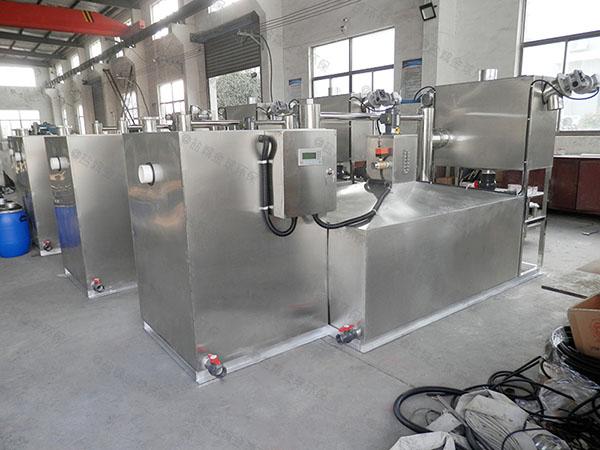 火锅地下式大全自动智能型油水过滤分离器报价