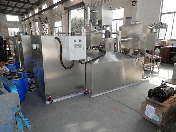 工地食堂地上式组合式隔油一体化装置造价