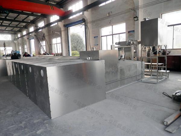 餐飲商戶大型地面式智能化油污水分離器制造廠家